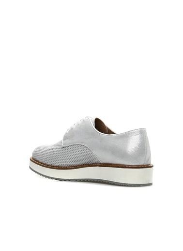Divarese Divarese 5023073 Pudra  Kadın Deri Ayakkabı Beyaz